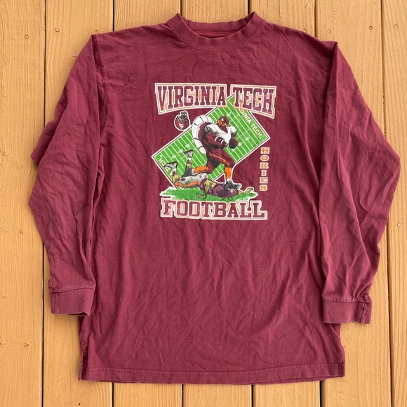 Vintage Virginia Tech Long Sleeve T-Shirt